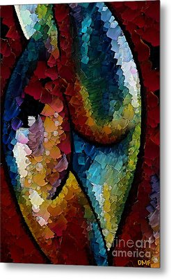 Shapeliness I Metal Print by Dragica  Micki Fortuna