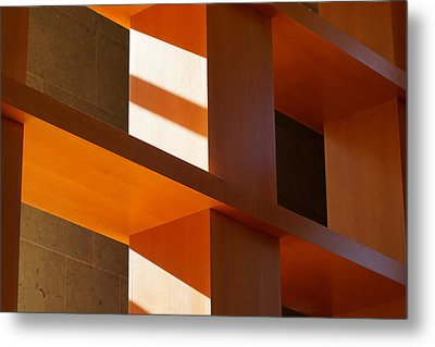 Shapes And Shadows 2 Metal Print by Ernie Echols