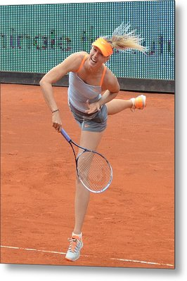 Sharapova Metal Print by Seruddin Salleh