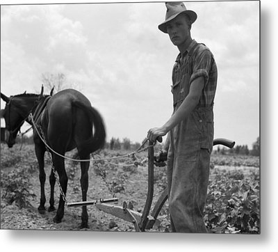 Sharecropper's Son, 1937 Metal Print by Granger