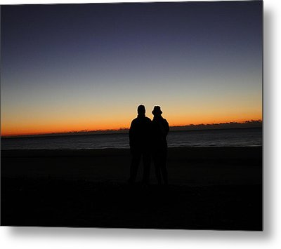 Sharing The Moment Metal Print by Cindy Croal