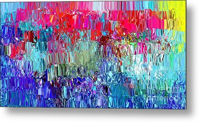 Shattered Metal Print by The Art of Alice Terrill