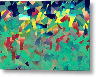 Shattered Color Metal Print by Kjirsten Collier