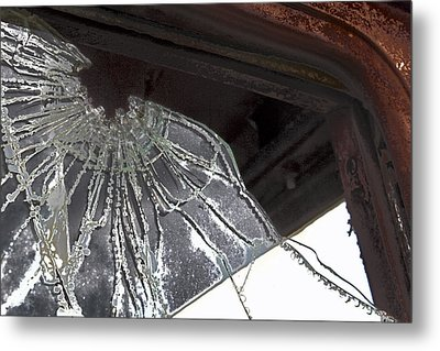 Shattered Metal Print by Lynn Sprowl