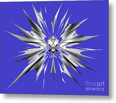 Shattered Metal Print by Renee Trenholm
