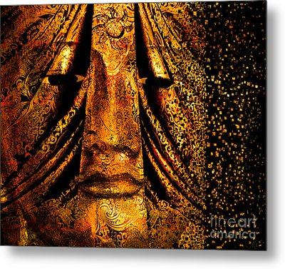 Shattering The Illusion Of Eternity  Metal Print by Nola Lee Kelsey