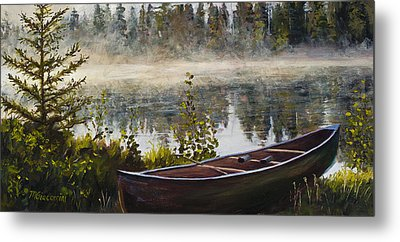 Shavasana Metal Print by Mary Giacomini