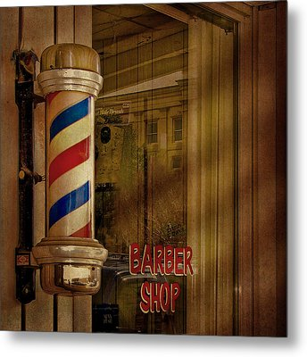 Shave And A Haircut Two Bits  Metal Print