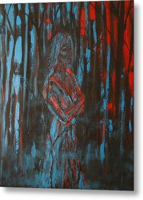 She Walks In Beauty Metal Print by Kathy Peltomaa Lewis