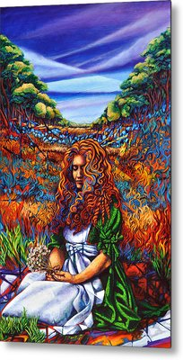 She Was... Metal Print by Greg Skrtic