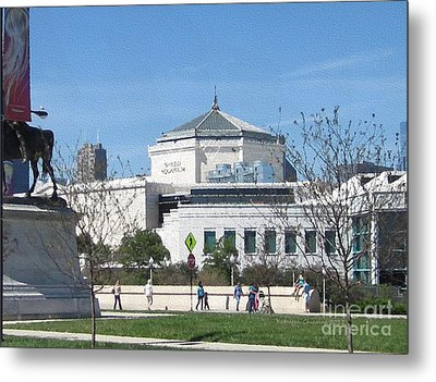 Metal Print featuring the photograph Shedd Aquarium-2 by Kathie Chicoine