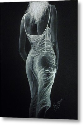 Sheer Elegance Metal Print