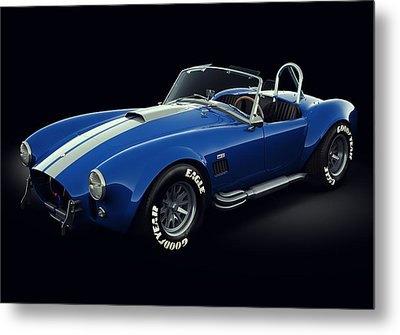Shelby Cobra 427 - Bolt Metal Print by Marc Orphanos
