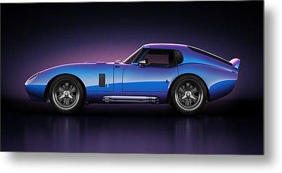 Shelby Daytona - Velocity Metal Print