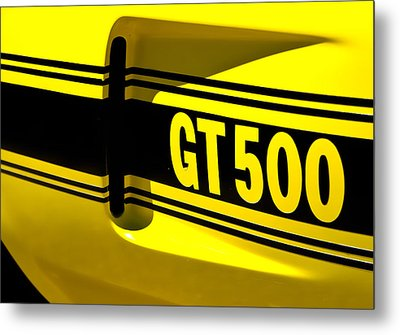 Shelby Gt500 Metal Print by Phil 'motography' Clark