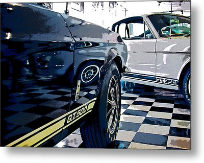 Shelby Mustangs Metal Print