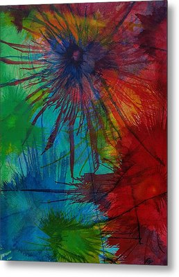 Shelbys  Flowers Metal Print