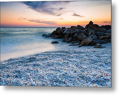 Shell Beach Metal Print by Adam Pender