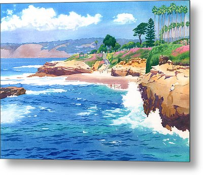 Shell Beach La Jolla Metal Print by Mary Helmreich