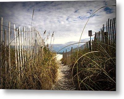 Shell Island Beach Access Metal Print