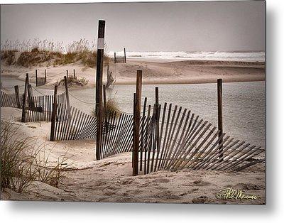Metal Print featuring the photograph Shell Island Hurricane Sandy by Phil Mancuso