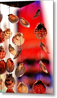Shell Mobile Metal Print by Mike Flynn
