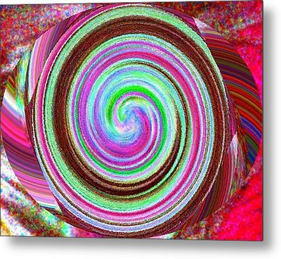 Shell Shocked Metal Print by Catherine Lott