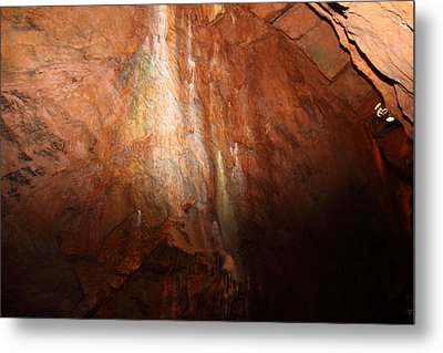 Shenandoah Caverns - 121226 Metal Print by DC Photographer