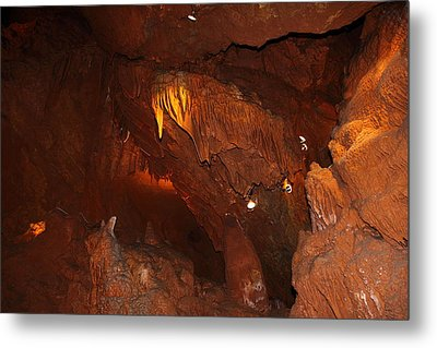 Shenandoah Caverns - 121249 Metal Print by DC Photographer