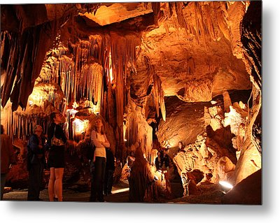 Shenandoah Caverns - 121261 Metal Print by DC Photographer