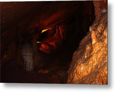 Shenandoah Caverns - 121265 Metal Print by DC Photographer