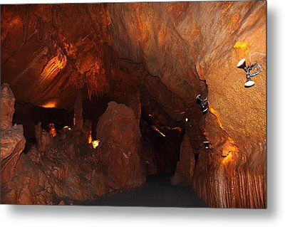 Shenandoah Caverns - 121272 Metal Print by DC Photographer