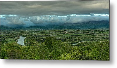 Shenandoah Green Valley Metal Print