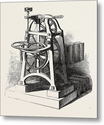 Shepherds Electric Clock For The Crystal Palace Mechanism Metal Print
