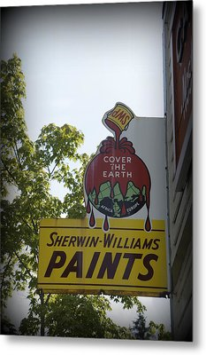 Sherwin Williams Metal Print