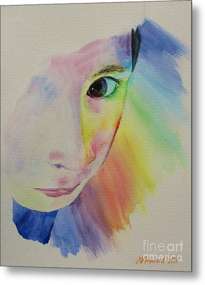 She's A Rainbow Metal Print by Martin Howard