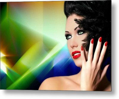 She's The One Metal Print by Karen Showell