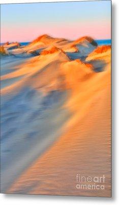 Shifting Sands - A Tranquil Moments Landscape Metal Print by Dan Carmichael