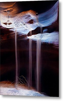 Shifting Sands Metal Print by Dave Bowman