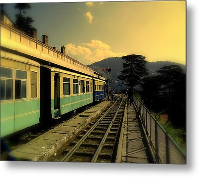 Shimla Railway Station Metal Print
