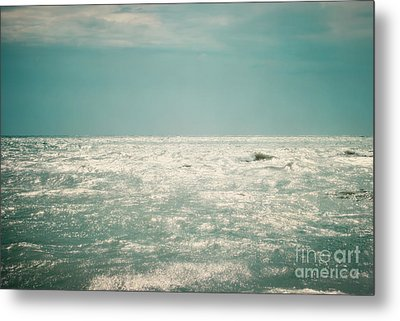 Shimmer Metal Print by Sharon Coty
