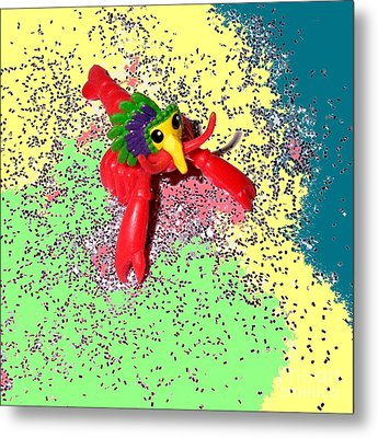 Metal Print featuring the photograph Shimmering Lobster by Joseph Baril