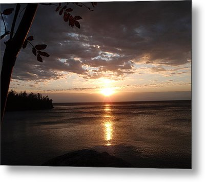 Metal Print featuring the photograph Shimmering Sunrise by James Peterson