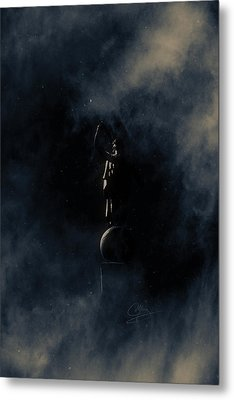 Metal Print featuring the photograph Shine Forth In Darkness by Greg Collins