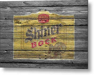 Shiner Bock Metal Print by Joe Hamilton