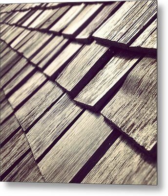 Shingles Metal Print by Christy Beckwith