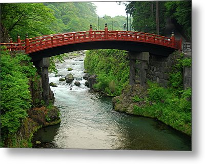 Shinkyo In Nikko Metal Print