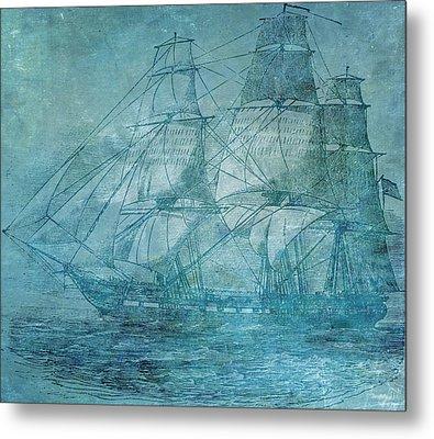 Ship 1 Metal Print
