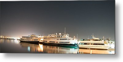 Metal Print featuring the digital art Ship by Gandz Photography