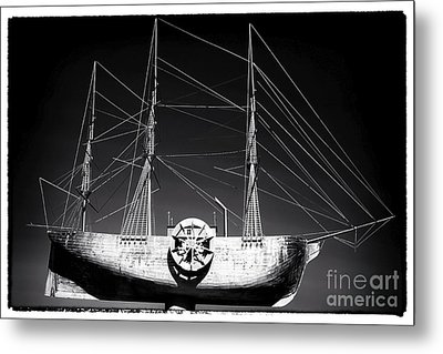 Ship Metal Print by John Rizzuto